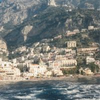 Positano from a boat